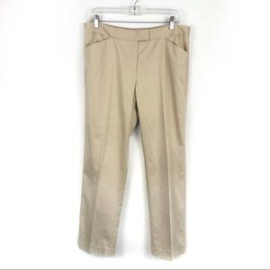 Lafayette 148 Cotton Stretch Career Trousers